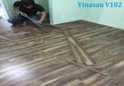 Sàn gỗ Vinasan V102, van sanvinasan, san go vinasan